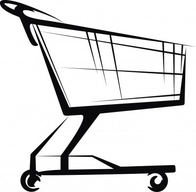 Download Grocery Cart Clipart - Grocery Cart Clipart