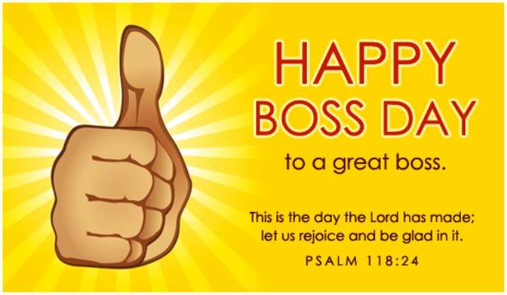 Download Happy Bosses Day Clipart