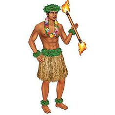 Download Hawaiian Hula Dancer. Cutouts Joint Tiki Totem Pole .