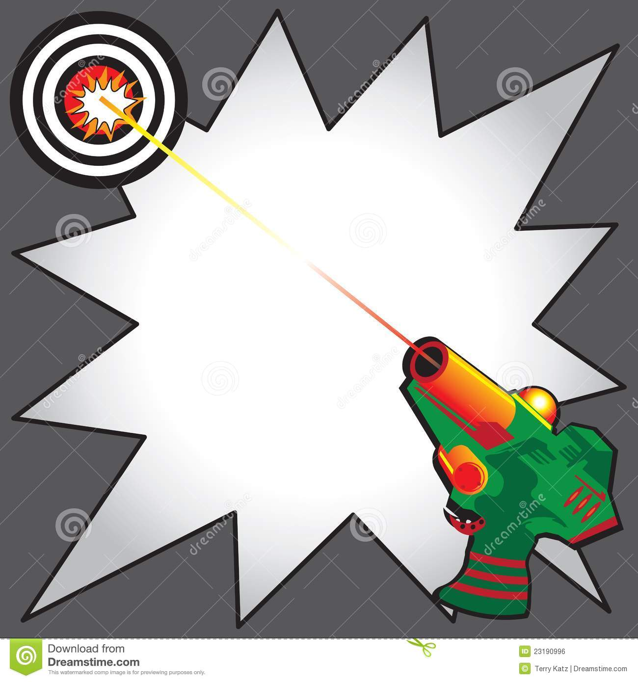 Laser Tag Clipart
