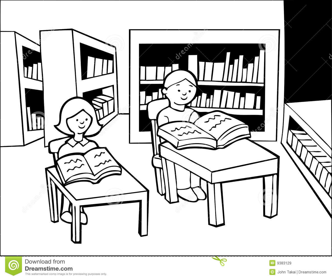 Download Library Black And White Clipart-Download Library Black And White Clipart-3