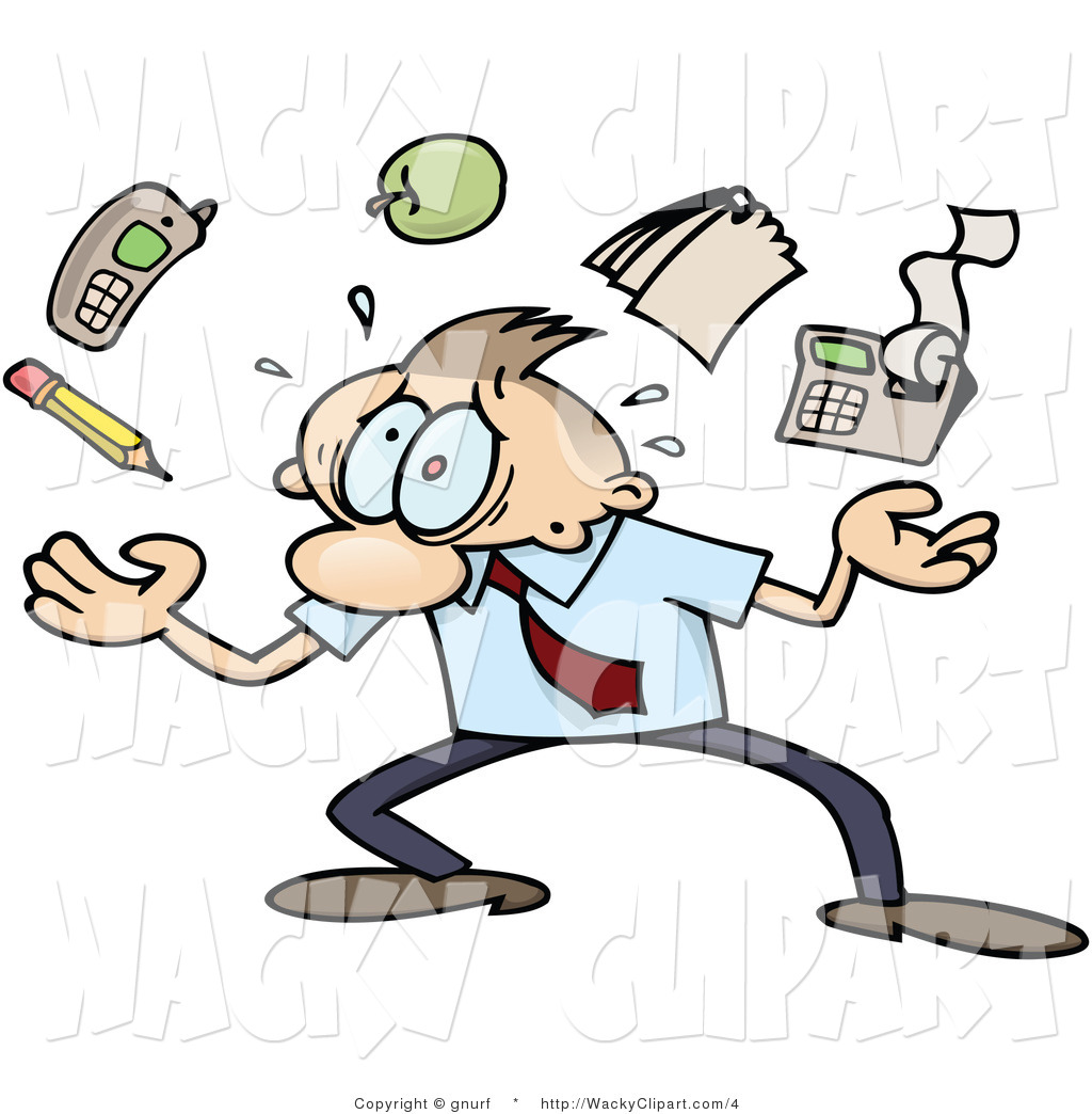 Download Man Stressed Out Clipart