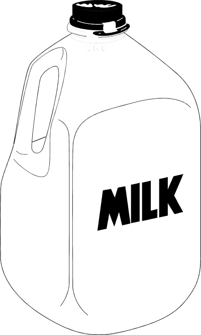 Download Milk Jug Clipart. What Is Lactose Free Milk .