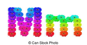 Download Mm Clipart . Mm - Daisy Upper a-Download Mm Clipart . Mm - Daisy Upper and Lower .-6