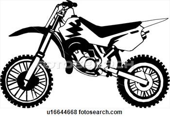 Download Motorcycle Dirt Bike Clipart
