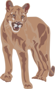 Download Mountain Lion Clipart. Cougar Art Clip Art