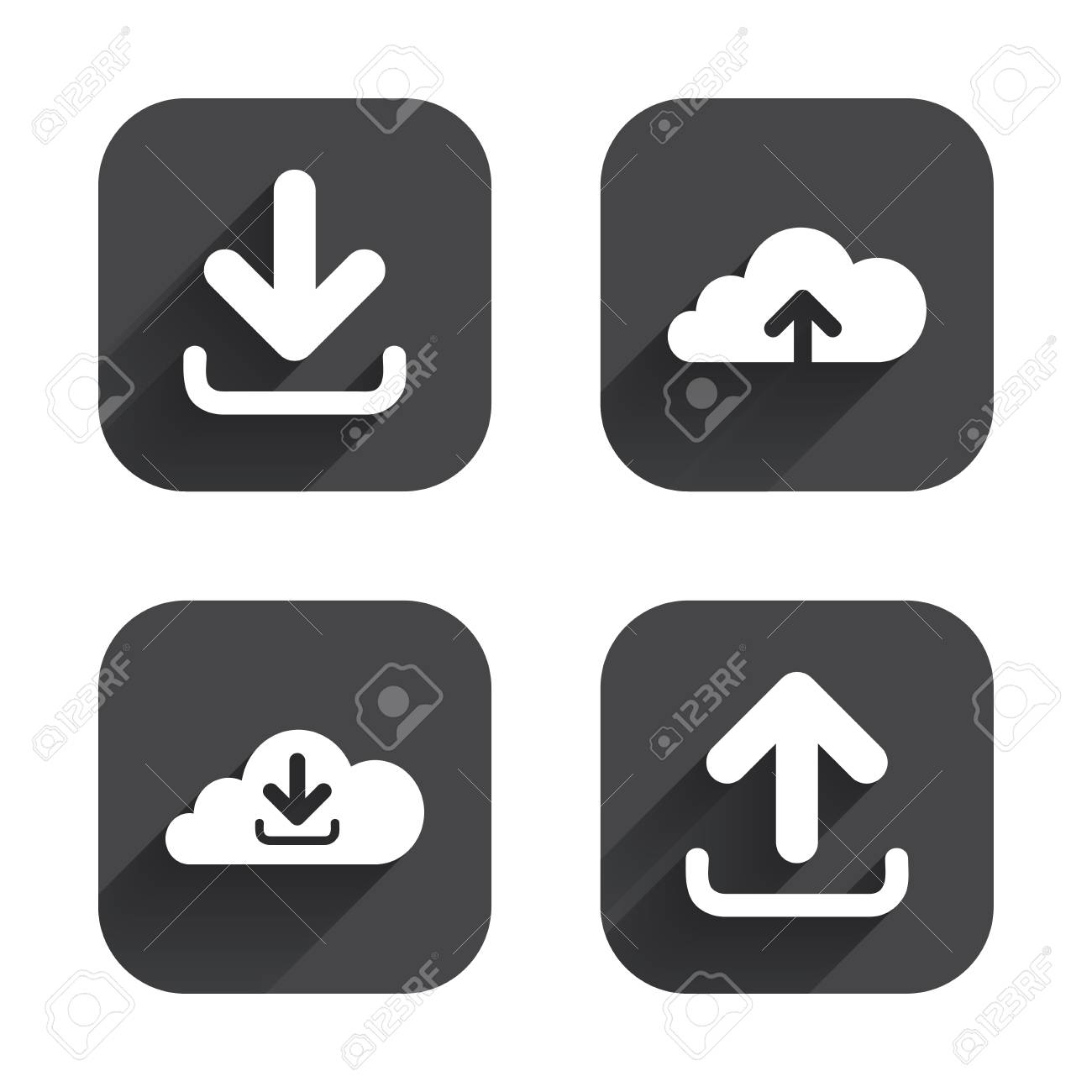 Download Now Button Clipart icons