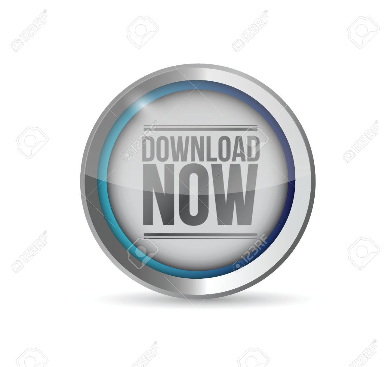 stylish Download now button. illustration design graphic Stock Vector -  20387301