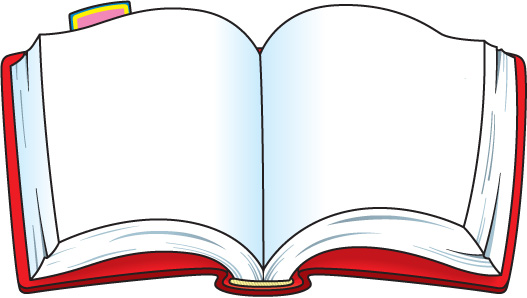 Clipart Open Book