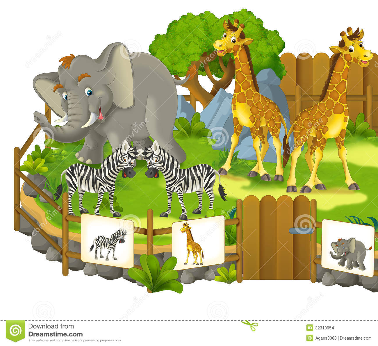Download Park Zoo Clipart-Download Park Zoo Clipart-1