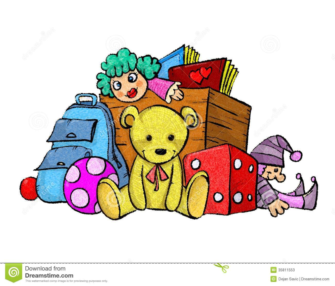 Download Pile Of Toys Clipart-Download Pile Of Toys Clipart-10