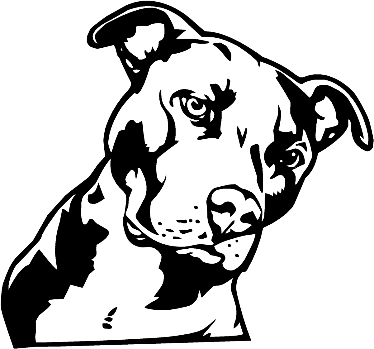 Download Pit Bull Free Clipart. Pitbull Dog