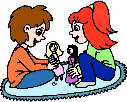 Download Play With Us Clipart - Dolls Clipart