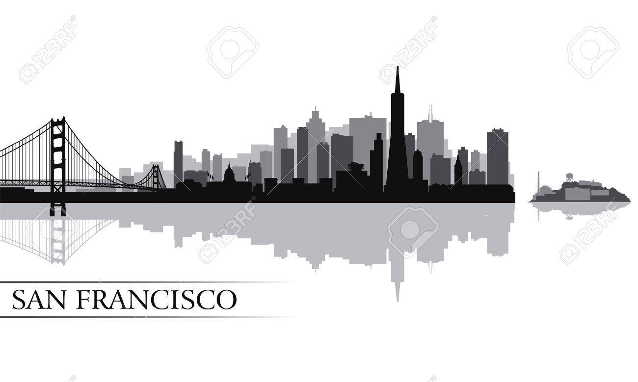 Download San Francisco Silhouette Clipart