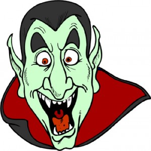 Download Scary Dracula Clipart