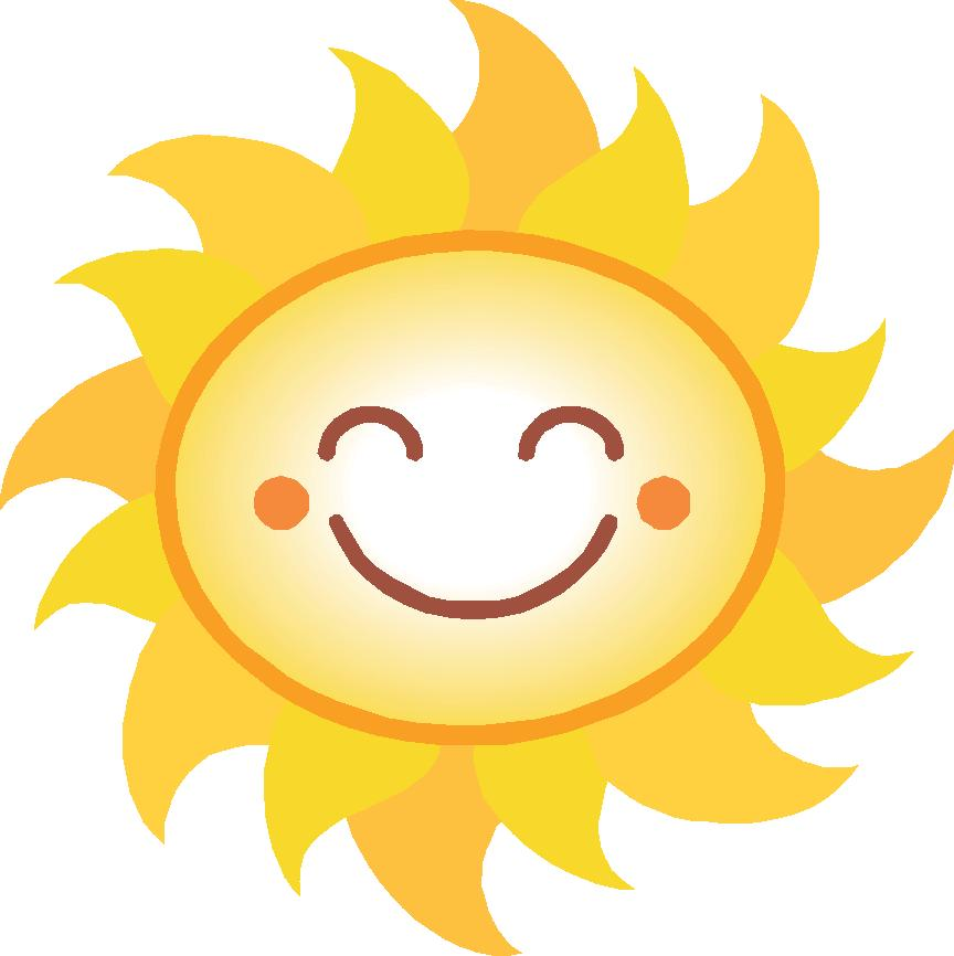 Download Smiling Sun Clipart