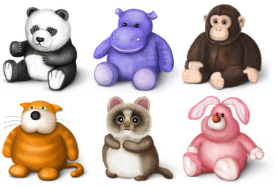 Download Stuffed Toy Clipart