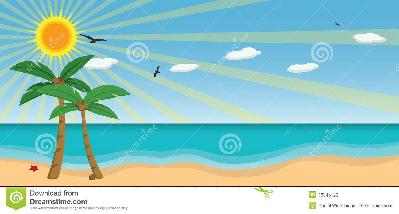 Download Sunny Day At The Beach Clipart-Download Sunny Day At The Beach Clipart-1