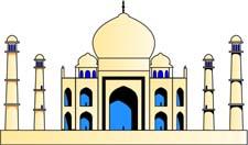 Taj Mahal Clip Art