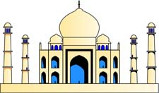 Download - Taj Mahal Clipart