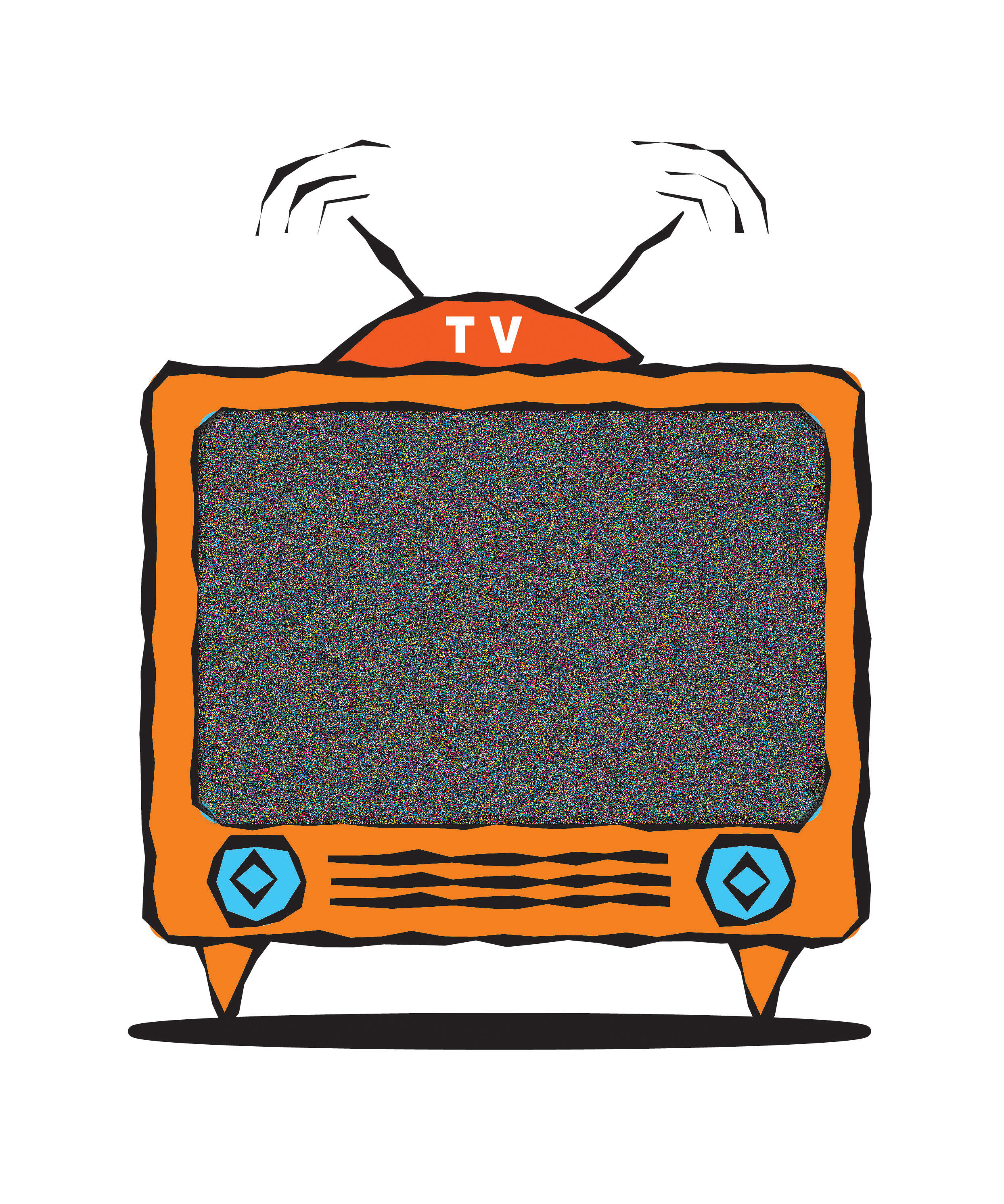 Television cliparts