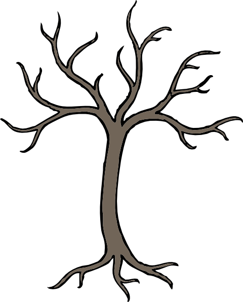 Download this image as: - Dead Tree Clipart