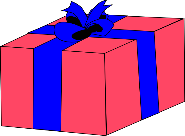 Download this image as: - Gift Box Clipart