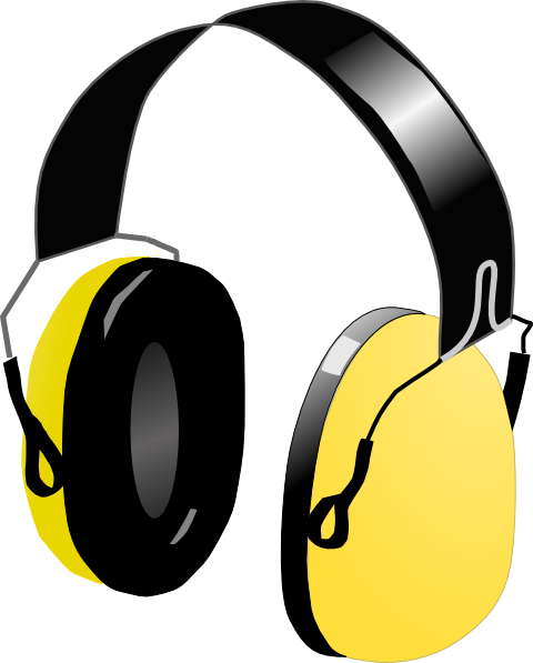 Download this image as: - Headphone Clip Art