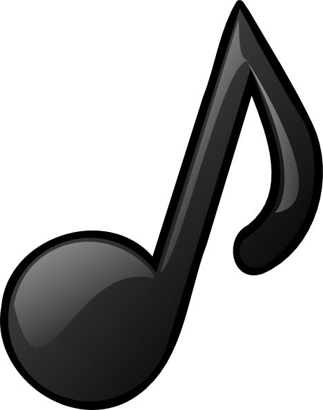 Download this image as: - Musical Note Clip Art