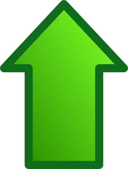 Download this image as: - Up Arrow Clip Art