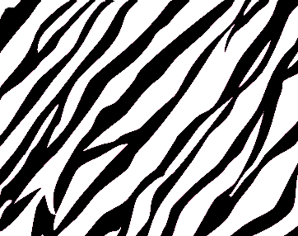 Download this image as: - Zebra Print Clip Art
