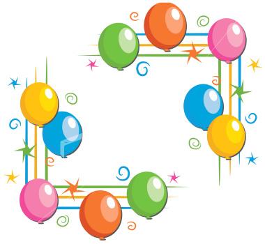 Download Vector About Balloon Border Cli-Download Vector About Balloon Border Clip Art Item 5 Vector Magz Com-3