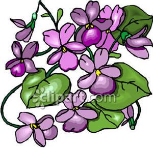 Download Wood Violets Clipart