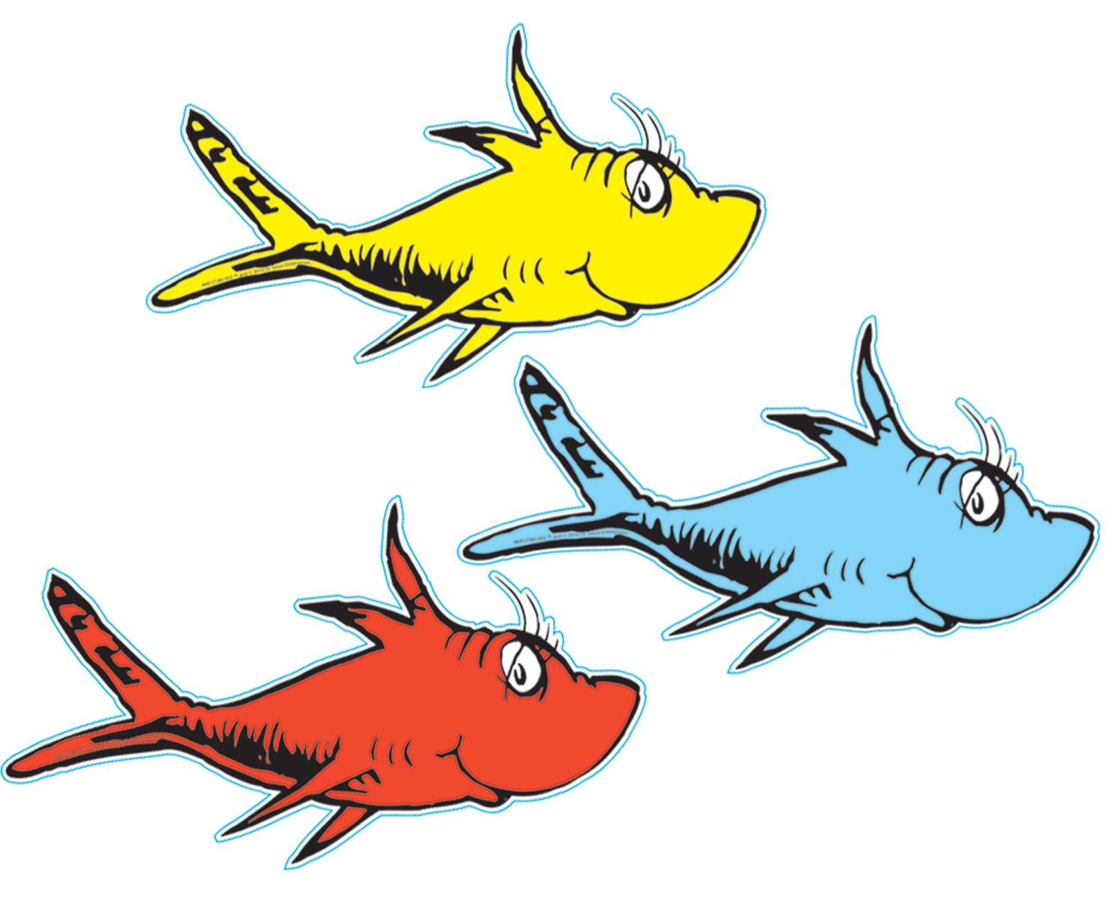 Dr Seuss Fish Clip Art-dr seuss fish clip art-2