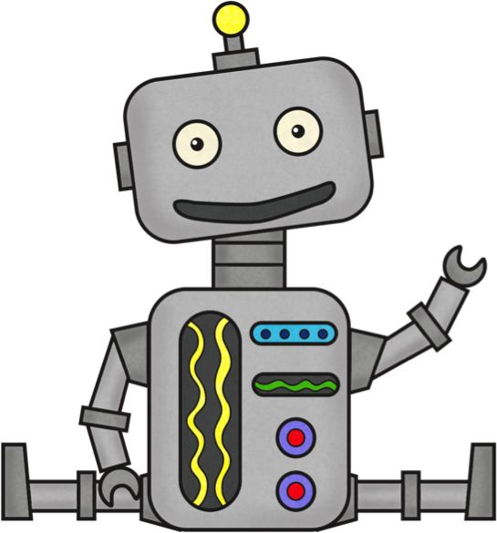 Dr. Daly is an expert in the  - Robot Clipart