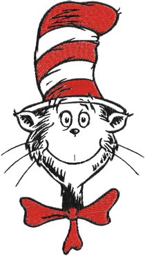 Dr seuss cat in the hat clipart wikiclipart