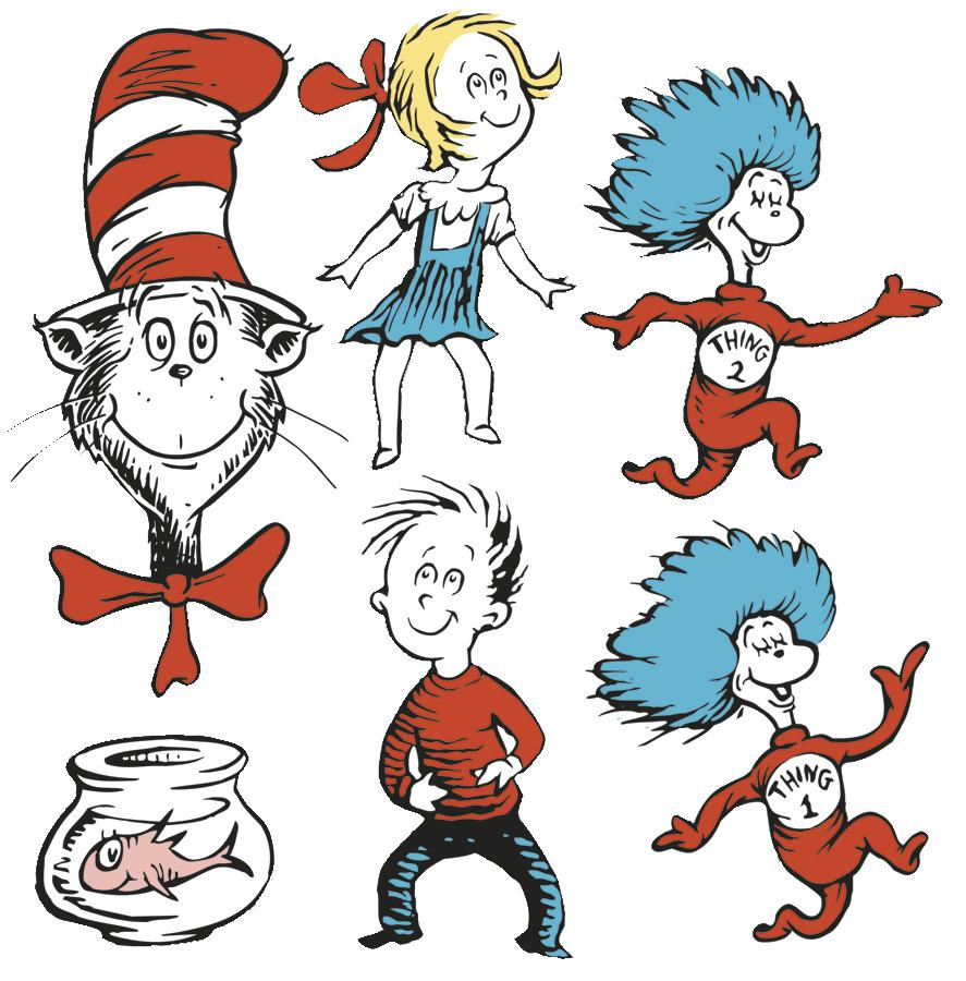 Dr Seuss Character Clipart #11404-Dr Seuss Character Clipart #11404-5