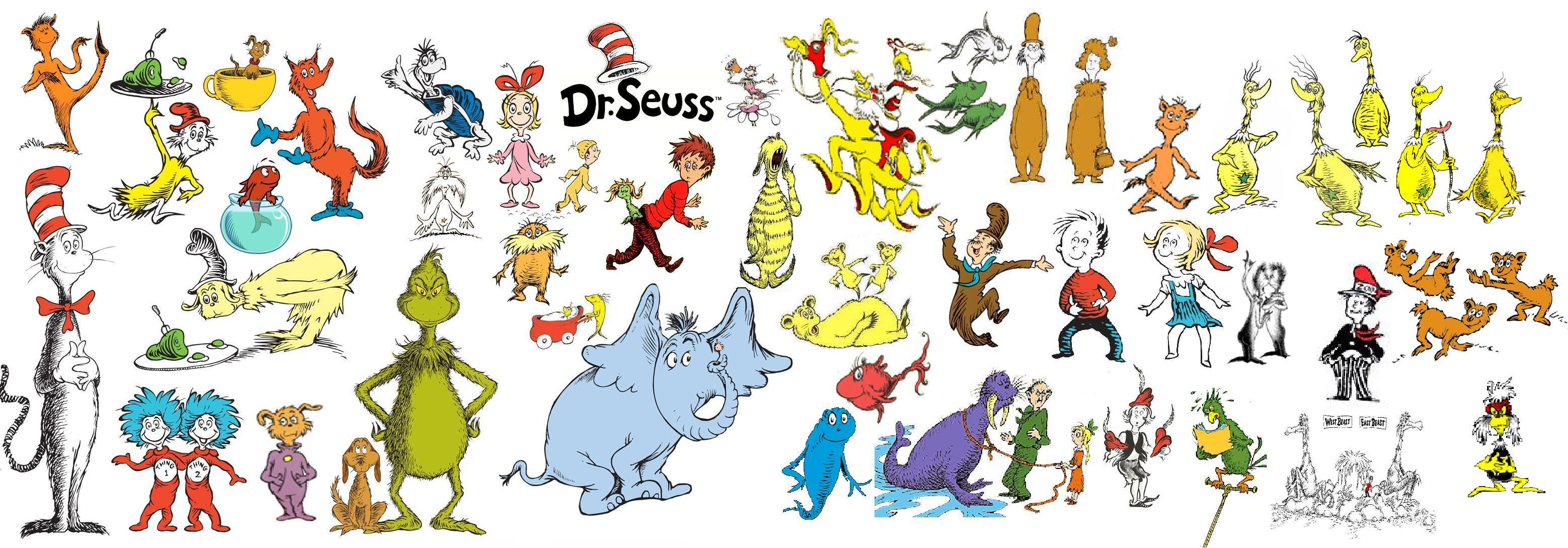 Dr Seuss Character List Clipart Free Cli-Dr Seuss Character List Clipart Free Clip Art Images-9