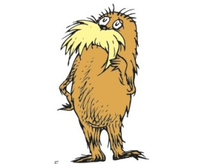 Dr Seuss Characters Lorax Clipart