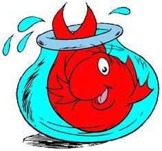 ... Dr Seuss Clip Art Fish - Free Clipart Images ...