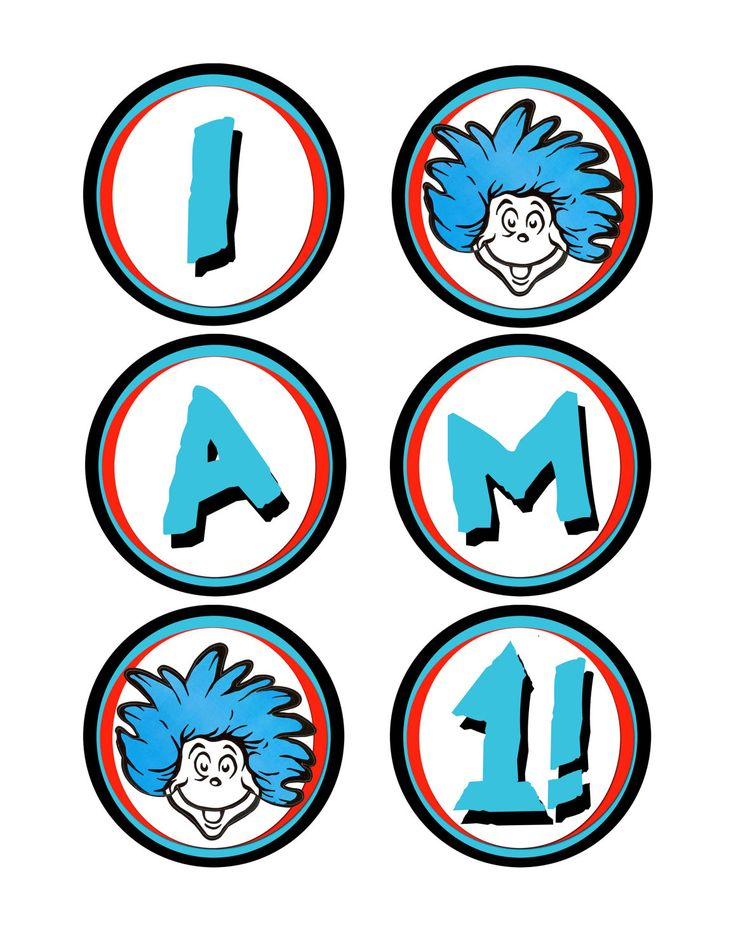 Dr Seuss Thing 1 And Thing 2 Printable C-Dr seuss thing 1 and thing 2 printable clip art clipart-15