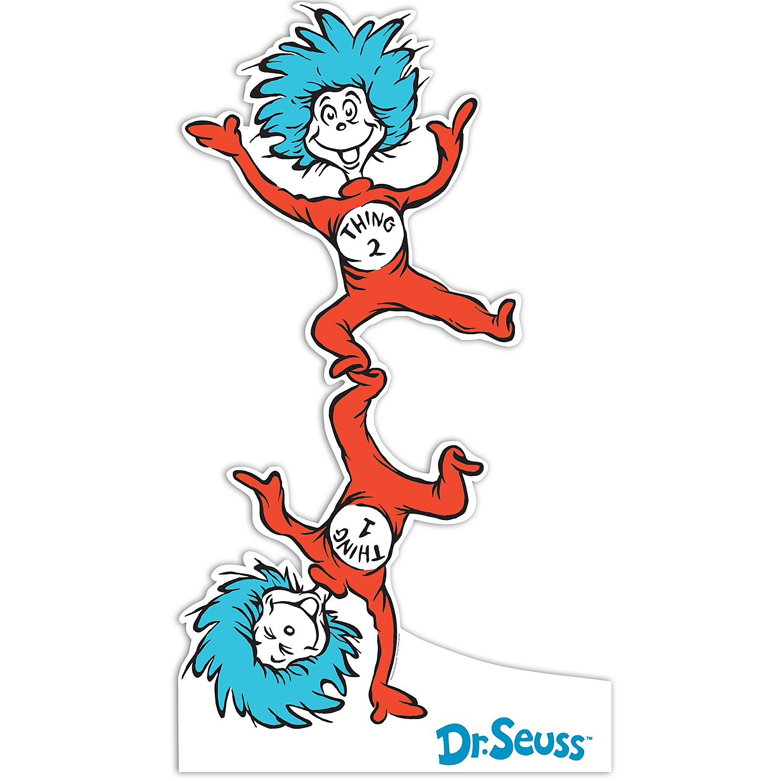 Dr. seuss, Thing 1 thing 2 .