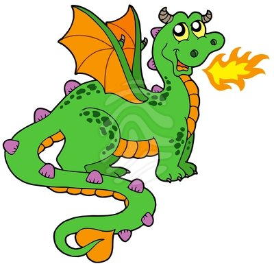 Dragon Breathing Fire Clipart Clipart Panda Free Clipart Images