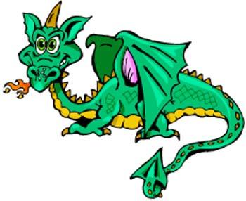 Dragon Clip Art-Dragon Clip Art-1