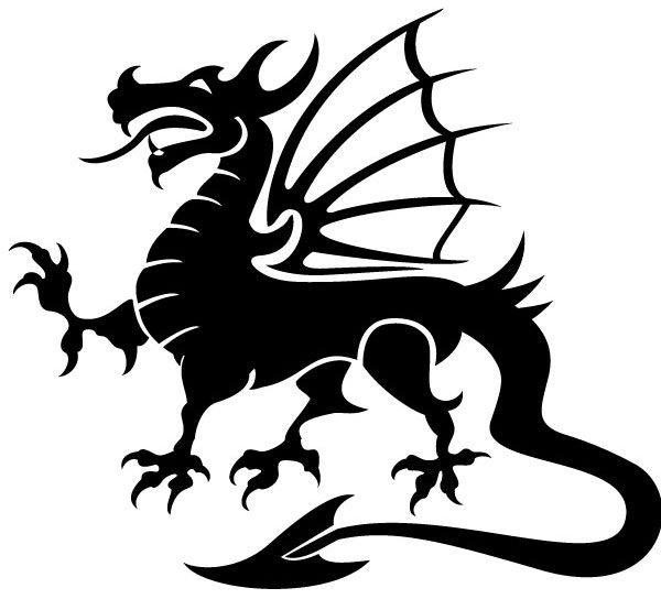 Dragon clipart free clip art .