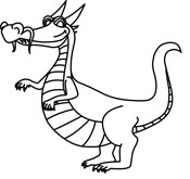 Dragon Clipart Size: 46 Kb