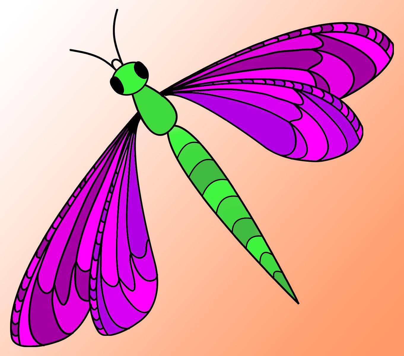 Dragonfly Clip Art-Dragonfly Clip Art-16