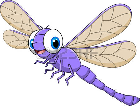dragonfly: Vector illustration .