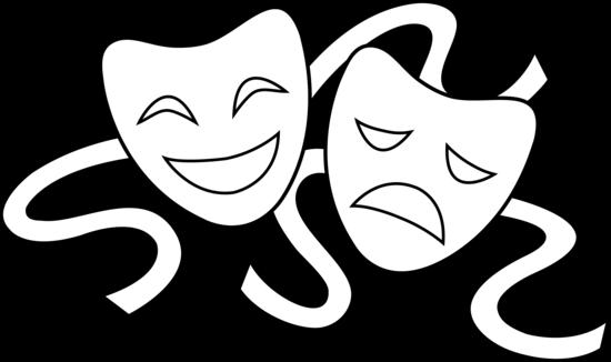Drama Mask Clipart .