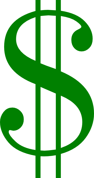 drawback clipart - Clip Art Dollar